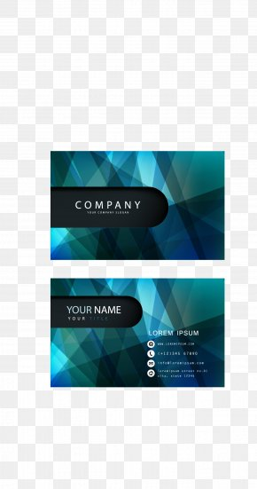 Business Card - Business Card Design Advertising PNG