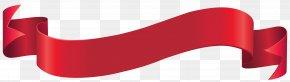Red Banner Clip Art Image - Rumah Sakit Santa Maria Clip Art PNG