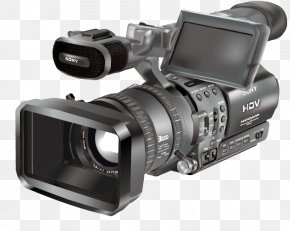 Vector Sony Camera - Video Camera PNG