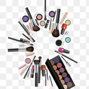 Makeup, Makeup, New Posters, Background - Cosmetics Makeup Brush Make-up PNG