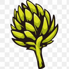 Hand Painted,Stick Figure,Fruits And Vegetables,vegetables,Fruits And Vegetables,Cartoon - Artichoke Clip Art PNG