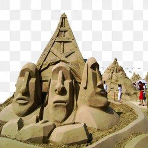 Nansha Sand Sculpture - Sand Art And Play Sculpture PNG