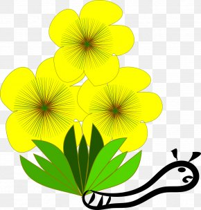 Yellow Flowers - Flower Yellow Clip Art PNG