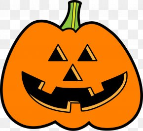 Happy Halloween! - Jack-o'-lantern Pumpkin Pie Halloween Clip Art PNG