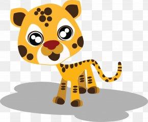 Vector Cartoon Tiger - Tiger Cartoon Animal Drawing PNG