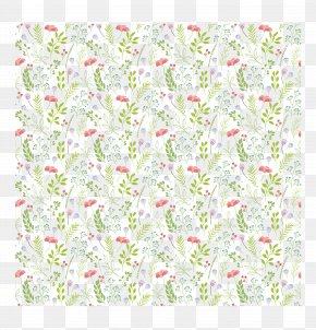 Pink Flower Leaves Pattern - Leaf Petal Flower Pattern PNG