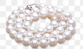 Pearl Necklace - Pearl Necklace Earring Pearl Necklace PNG