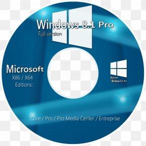 Windows CD Cover Image - Windows 8.1 DVD Windows 7 Microsoft Windows PNG