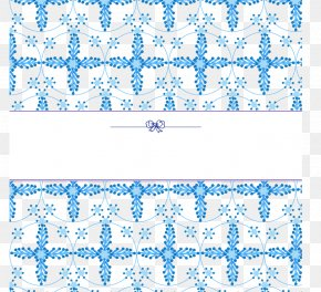Blue Snowflake Background - Blue Snowflake Pattern PNG