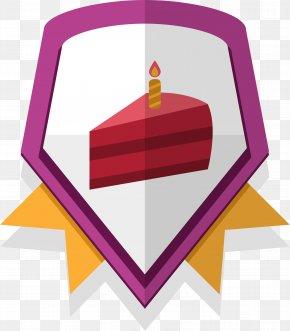 Purple Birthday Badge Sticker - Sticker Clip Art PNG