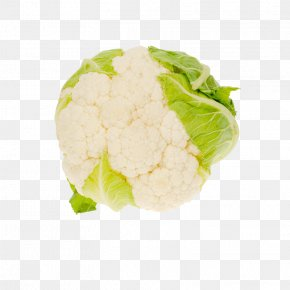 Cauliflower - Cauliflower Organic Food Broccoli Cabbage Vegetable PNG