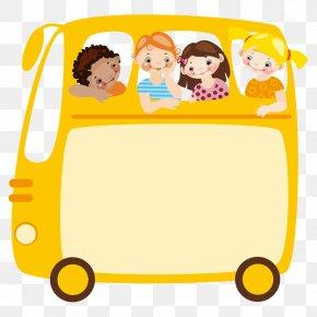 School Bus - Field Trip School Class Clip Art PNG