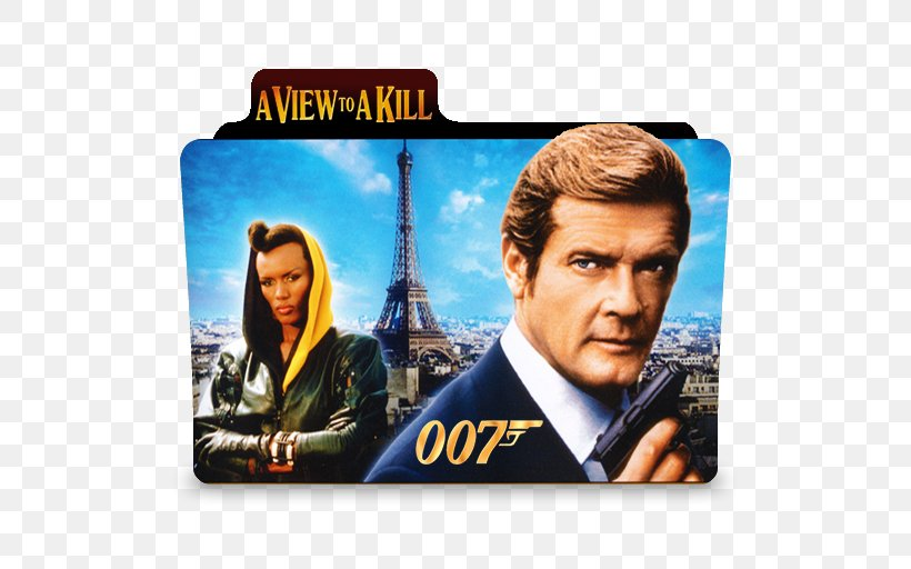 Roger Moore A View To A Kill James Bond Film Series Png