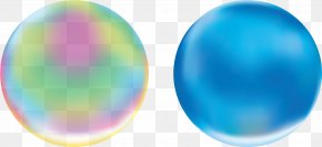 Washing Powder - Sphere Soap Bubble Ball PNG