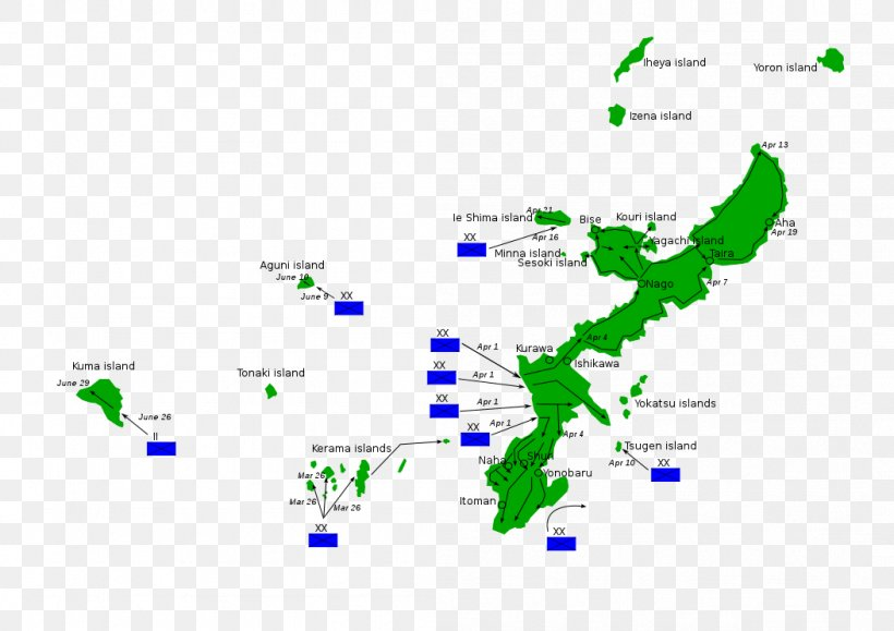 Battle Of Okinawa Okinawa Island Ryukyu Islands Operation