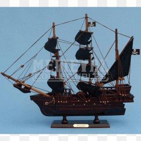Ship Replica - Queen Anne's Revenge Ship Model Boat Piracy PNG