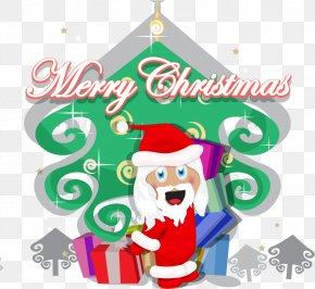 Cute Christmas Santa Claus - Santa Claus Christmas Ornament Christmas Tree Clip Art PNG
