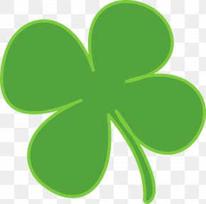 Leaves - Shamrock Saint Patrick's Day Clover Clip Art PNG