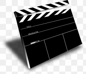 Movie Tape - Clapperboard Film Director Cinema Clip Art PNG