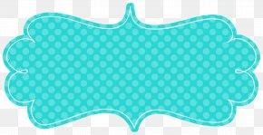 Aqua Frame - Paper Picture Frames Label Clip Art PNG