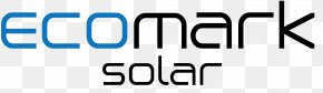 Solar Energy Logo - Solar Power EcoMark Solar Solar Energy Net Metering Renewable Energy PNG