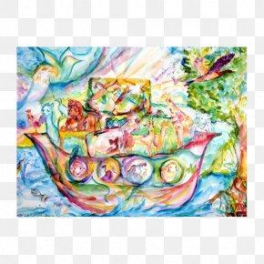 שבע חיה ניפוח זכוכית צפת Watercolor Painting Art MuseumPainting - Sheva Chaya Glassblowing Gallery PNG