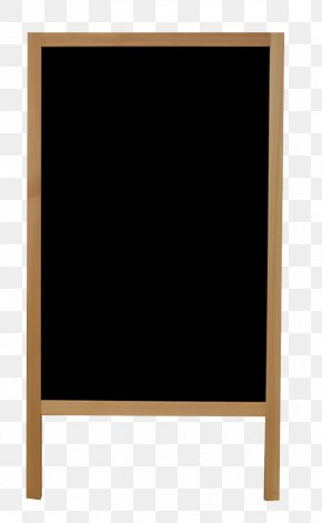 Blackboard Notice Column - Picture Frame Text Square Display Device Pattern PNG