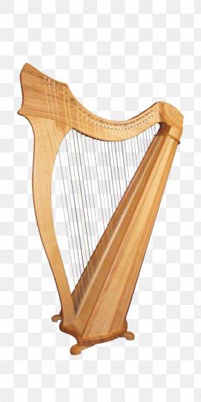 Harp - Celtic Harp Musical Instrument PNG