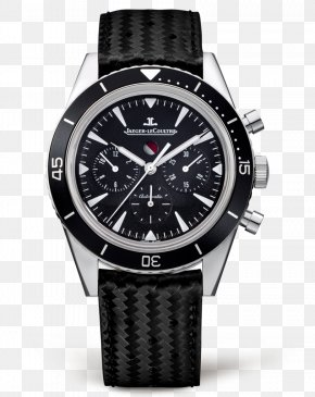 Jaeger-LeCoultre Watch Black Male Watch - Jaeger-LeCoultre Chronograph Automatic Watch Movement PNG