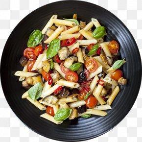 Restaurant Card - Pasta Salad Pesto Spaghetti With Meatballs Italian Cuisine PNG
