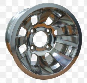 Alloy Wheel Spoke Tire Rim PNG