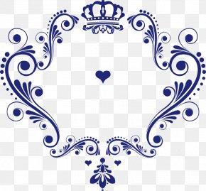 Crown Pattern Vector Love Logo - Logo Wedding PNG