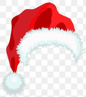 Santa Hat Clipart - Santa Claus Hat Christmas Clip Art PNG