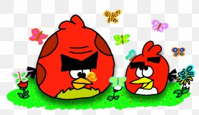 Angry Birds Seasons Loading - Angry Birds 2 Angry Birds Epic Red Clip Art Game PNG