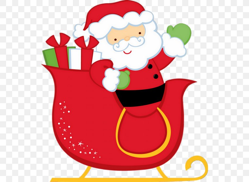 Santa Claus Is Comin' To Town Christmas Gift Clip Art, PNG, 550x600px, Santa Claus, Artwork, Christmas, Christmas Decoration, Christmas Ornament Download Free