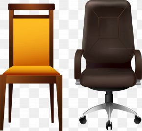 Chair Office Chair Vector Elements - Office Chair Furniture PNG