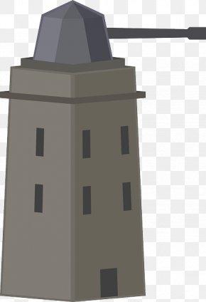 Gun Cartoon - Turret Eiffel Tower Clip Art PNG