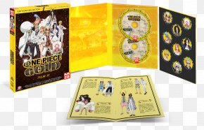 One Piece Film Gold - Blu-ray Disc One Piece: Unlimited World Red DVD Collector PNG