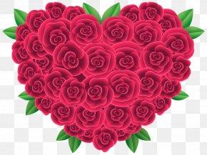 Flower - Flower Heart Clip Art PNG