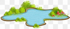 Lake Clipart Nature - Clip Art Desktop Wallpaper Image Drawing PNG