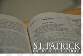 St Patrick's Day - St. Patrick Catholic High School Bible Study Gospel Of John PNG
