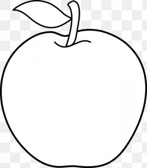 White Apple Cliparts - Black And White Circle Area Clip Art PNG