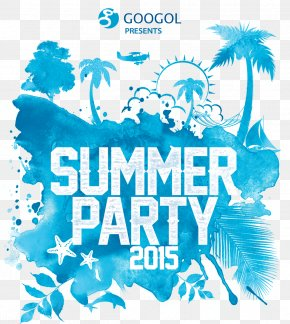 Summer Banquet - Party Flyer Poster Standard Paper Size Festival PNG