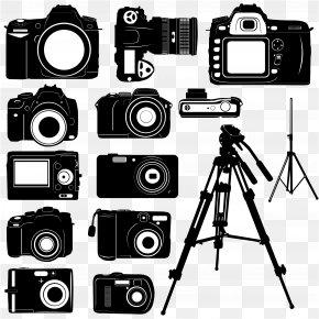 Vector Original Camera - Digital Cameras Photography Clip Art PNG