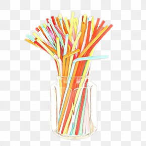 Straw Party Supply - Stick Candy Drinking Straw Pencil Toothpick Party Supply PNG