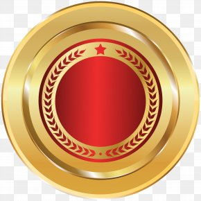 Gold Red Seal Badge Transparent Clip Art Image - Translam Institute Of Technology And Management Information Technology Disaster Resource Center (ITDRC) Information Technology Disaster Resource Center (ITDRC) PNG
