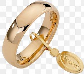 Wedding Ring - Wedding Ring Gold UnoAErre Jewellery Engraving PNG