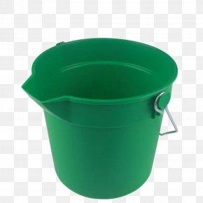 Green Bucket - Flowerpot Plastic Bucket PNG