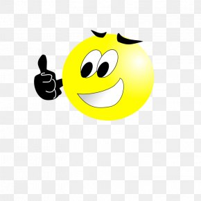 Smiley Thumbs Up - Smiley Thumb Signal Free Content Clip Art PNG