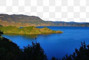 Lugu Lake Photography - Lugu Lake Loch U6811u6728u6444u5f71 Photography PNG